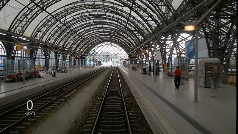 Jak rychlě jede vlak? Dresden Hbf - Bad Schandau - změna napájecích systému   193