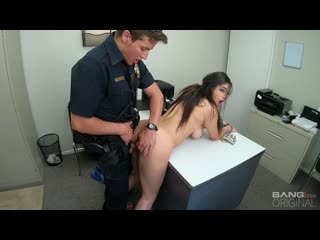 Gabriela Lopez - Runs From The Cops And Gets Fucked As Punishment