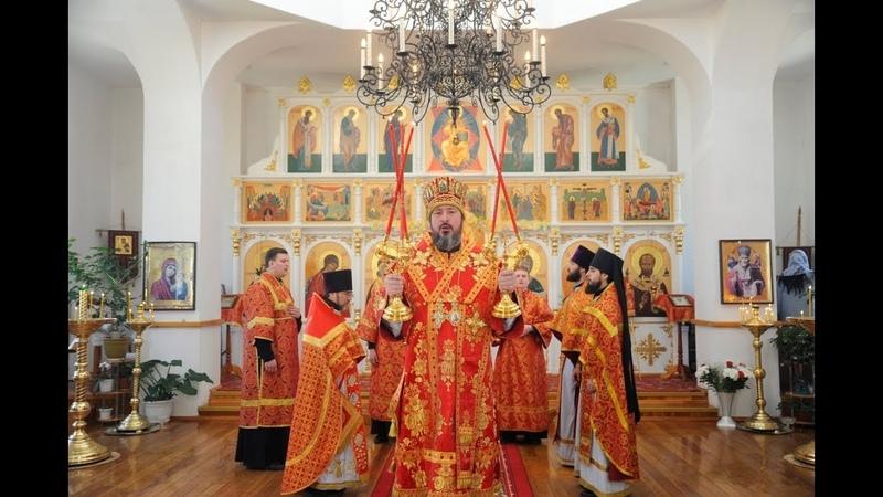 Слово митрополита Савватия в г Закаменске