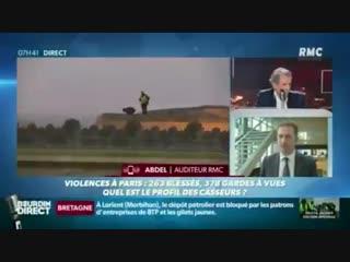 Abdel, simple Dilet jaune exprime son désespoir et avertit que le 8 décembre se fera avec des armes, le moratoire ne passe pas