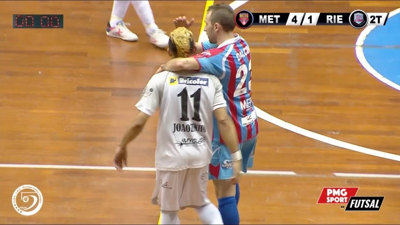 Serie A PlanetWin 365 Futsal Meta Catania vs Real Rieti Highlights