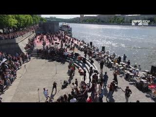 Rocknmob / livin on a prayer bon jovi (rocknmob, 270+ musicians)