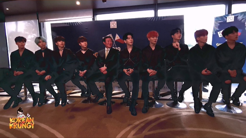 [20190809] NOIR 느와르 - FULL PRESS CONFERENCE | 2019 Gangwon Day in the Philippines