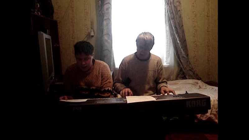 замечательная песня РУСАЛОЧКИ. автор Валерий Семин. исполняем мы отец и мой сын Дима.