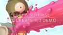 Burt's Surprise - Procreate 4.3 Demo