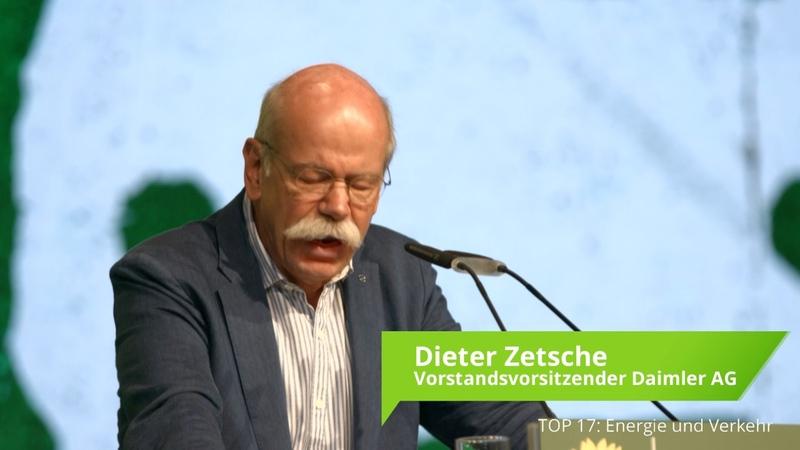 Gastrede Dieter Zetsche und Vorstellung durch Cem Özdemir auf der BDK 2016