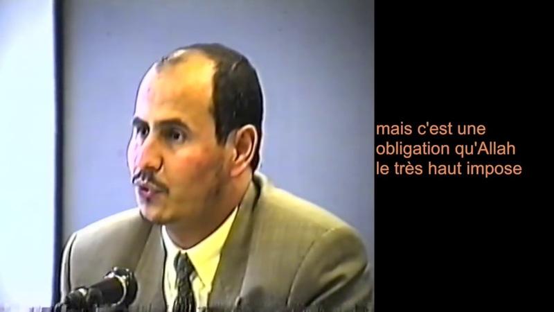 Une conférence choc d'Amar Lasfar Président de l'UOIF refait surface