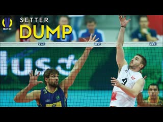 Top 30 Setter Dump. Volleyball Amazing.