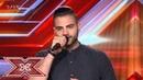 Δεν μιλάμε τραγουδά ο Γιώργος Ανδρούλης Auditions X Factor Greece 2019