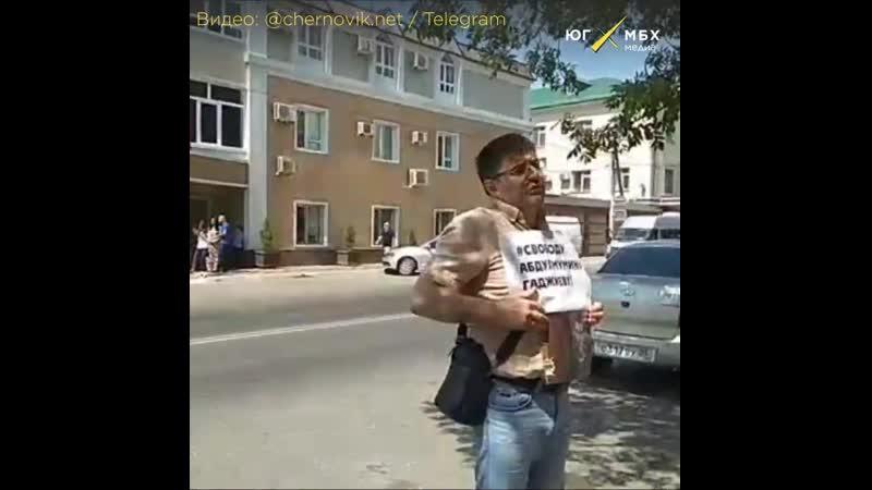 Главред газеты Новое Дело Гаджимурад Сагитов о сути уголовного дела коллеги Абдулмумина Гаджиева