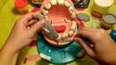 Плей До Игровой набор доктор зубастик / Play Doh Game set Dr. Nibbler