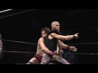 Mizuki Watase, Jason Kincaid vs. Keisuke Ishii, Yuki Ueno (DDT Live! Maji Manji #19)