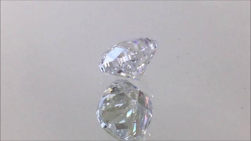 1.50 Carat Cushion Cut Lab Grown Diamond D/SI2 - BigDiamondsUSA