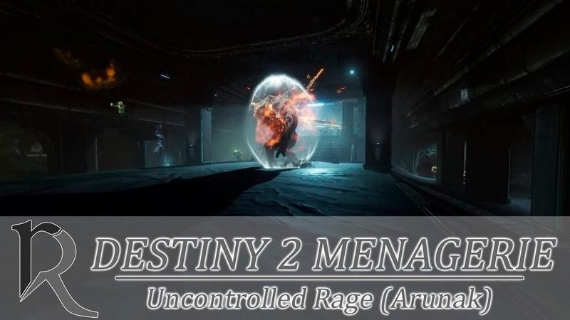Destiny 2. Menegerie Heroic. Boss Fight Arunak. Паноптикум Героический. Босс Арунак