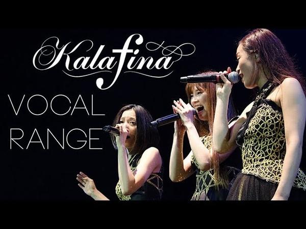 Kalafina Vocal Range (C3 - G5)