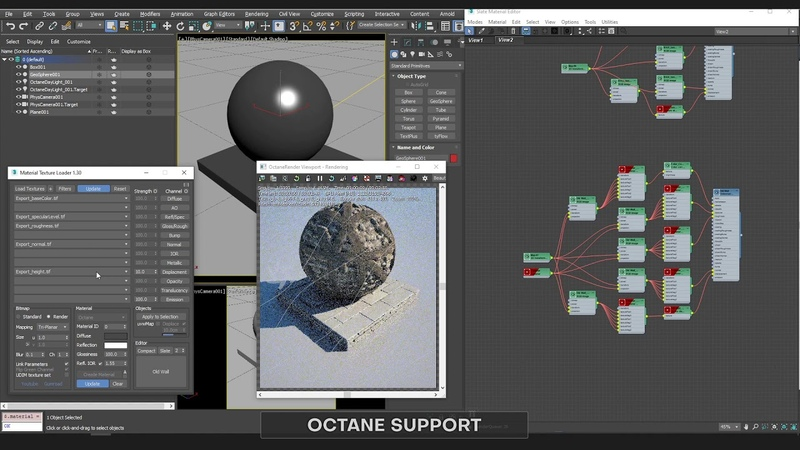 NEW UPDATE Material Texture Loader 1 3