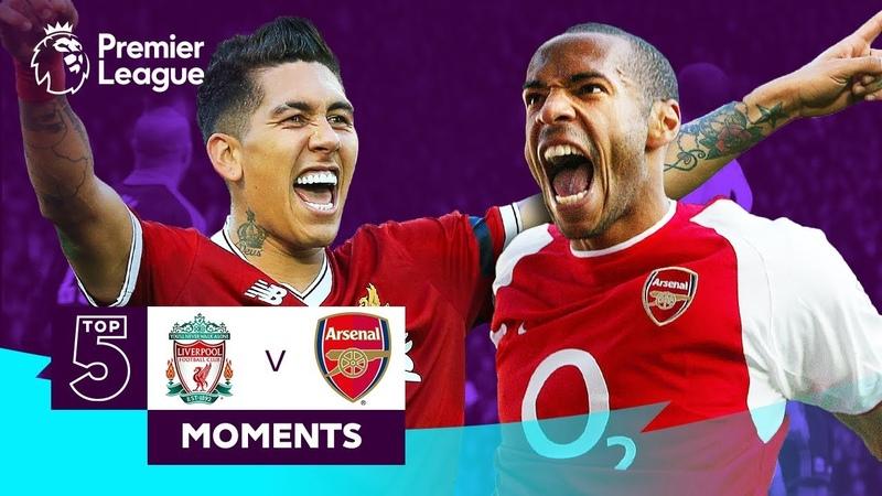 Liverpool v Arsenal Top 5 Moments