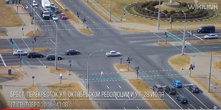 ДТП 17 сентября на перекрёстке ул. 28-го Июля и Варшавское шоссе