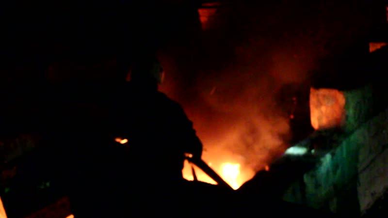 Пожар на Больших лабиринтах