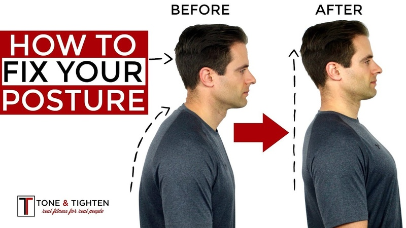 How To Correct Your Posture 5 Home Exercises To Fix Your Posture