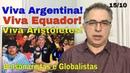 O Pós Macri: Argentinos no Brasil? Ministro/Bolsonaro ensina a Aristóteles! Globo esconde novamente!