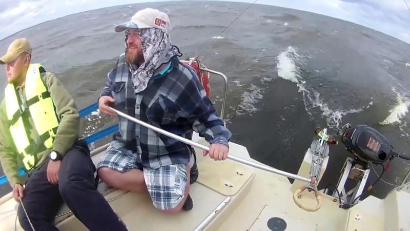 Глиссирование на яхте