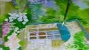 рисую крышу балкончика картина вверх тормашками чтобы дотянуться
