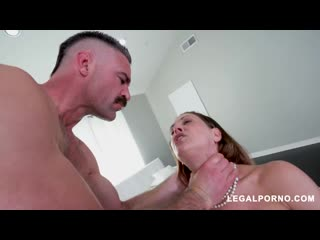 Horny Cherie DeVille gets all her holes filled