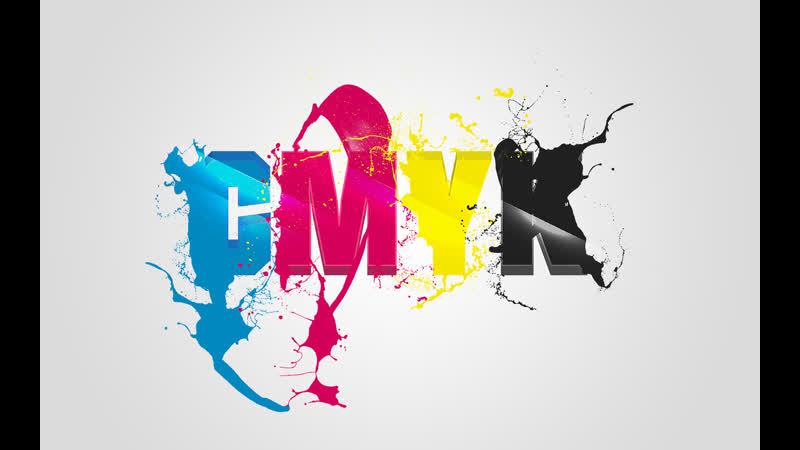 Прикольная заставка CMYK от студии Greyscalegorilla