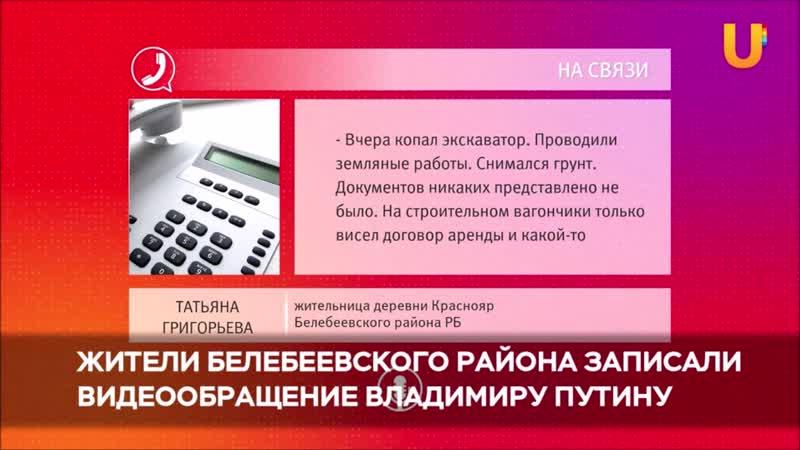 Жители Белебеевского района просят Владимира Путина перенести строительство свинокомплекса
