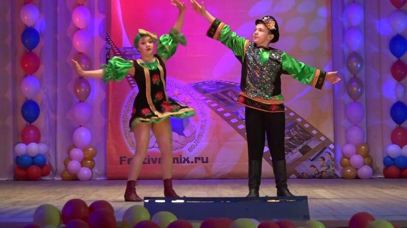 Народно стилизованный танец ДЕРЕВЕНСКИЙ РОМАНС
