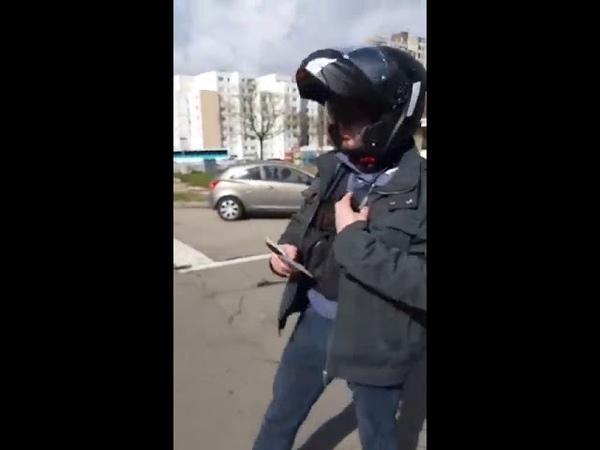 Interpelation agressive police dun citoyen Français , La dictature en marche Alsace