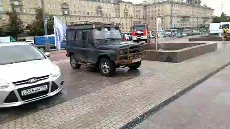Готовимся выступить на Дене пожарной охраны Московского района