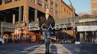 ESCADA SPORT Fall / Winter 2018 with Amber Valletta