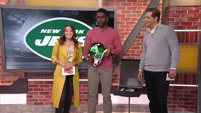 GMFB - Sam Darnold teammates unveil new Jets uniforms