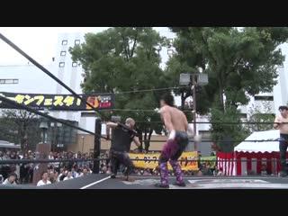 Jason Kincaid, Mizuki Watase vs. Mike Bailey, MAO (DDT - Utan Festa 2018)