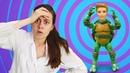 Видео для детей Кукла Барби и Кен обидели Фею Игрушки для девочек у Доктора Ау