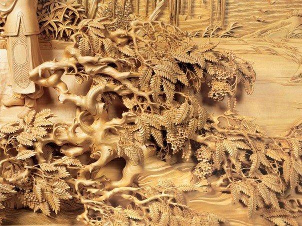Китайская школа резьбы по дереву, изображение №3