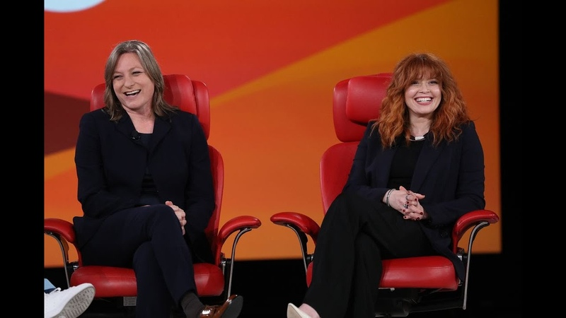 Natasha Lyonne and Netflix's Cindy Holland Full interview Code 2019