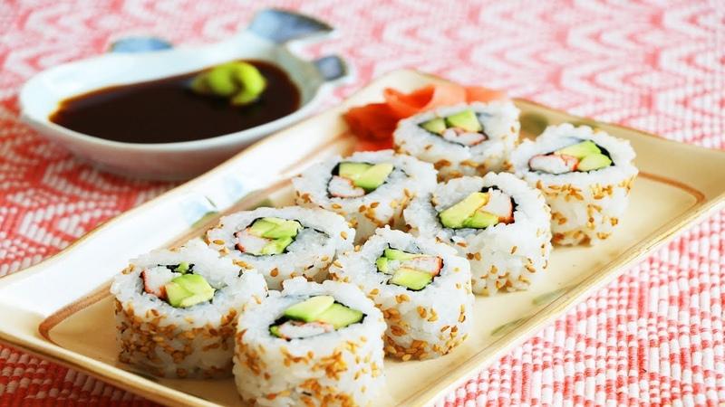 美國必吃加州壽司卷的家庭做法 美食天堂 CiCi's Food Paradise