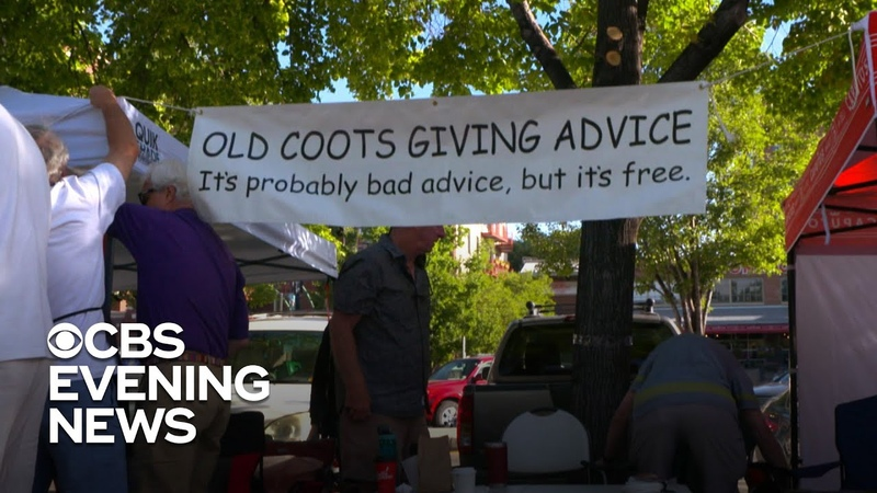 Old Coots dole out wisdom at Salt Lake City farmer's market
