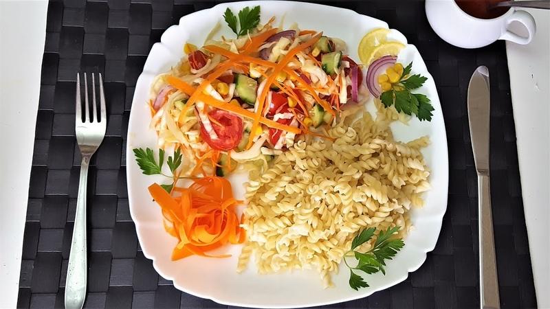 İnanılmaz lezzet 3 dəgigəyə Payiz salatı Uzun müddət tox hazirlanmasi Salat şotka