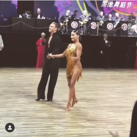 "Latin Dance on Instagram: ""Troels and Ina - Blackpool Shanghai 2019 Killer jive 😍❤️ Video @troelsbager latin dance jive chacha samba rumba ..."
