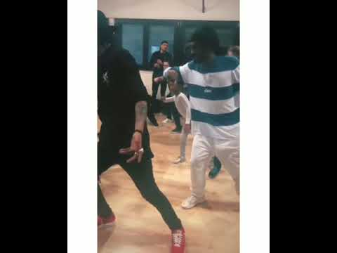 Les twins new juste debout freestyle with dauther
