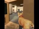 Очень милый мод к компьютерной игре хорошее настроение киса геймер стрельба огонь на поражение ласка приласкал