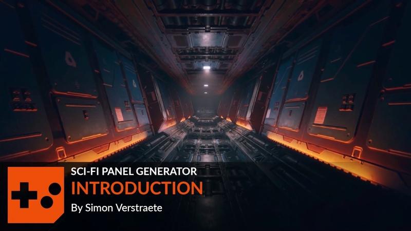 Houdini Sci Fi Panel Generator | Introduction