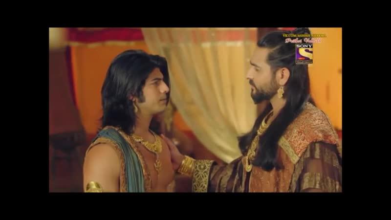 30 Ашиш Шарма и Сонарика Бхатия в сериале Притхви Валлабха Индия 30 серия