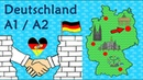 Deutsch A1 A2 Deutschland Geographie Kultur German lesson geography culture in Germany