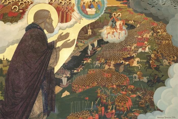 8 октября Церковь вспоминает преподобного Сергия Радонежского.