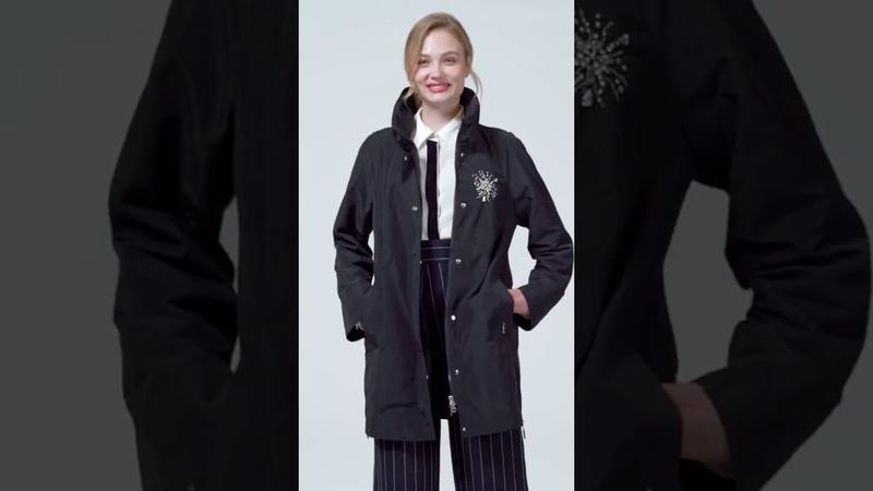 Astrid 2019 Осень новое поступление топ серый тренч пальто стоячий воротник